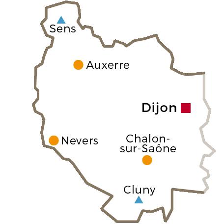 Le Cnam en région Bourgogne