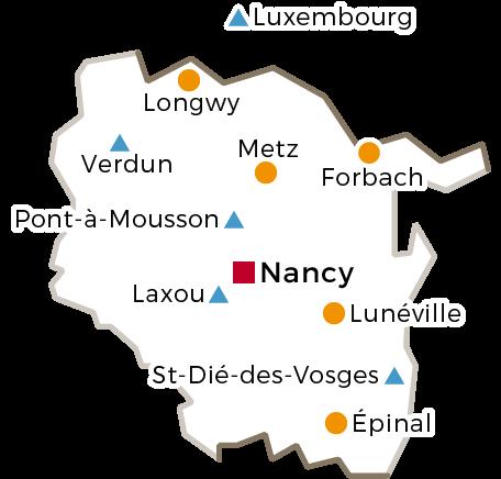 Le Cnam en région Lorraine