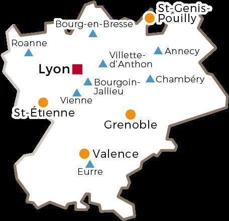 Le Cnam en région Rhône Alpes