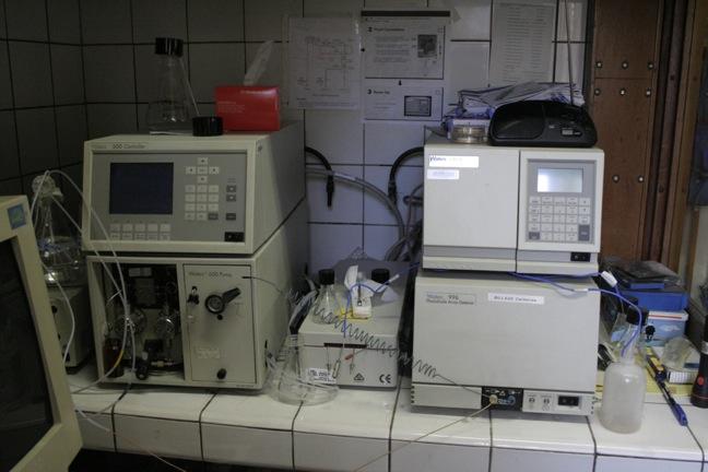 HPLC-refractometer